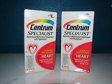 Centrum Specialist Vitamin C D B Multi Lot 2x60=120 Tabs Heart Phytosterols 5/20