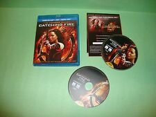 The Hunger Games: Catching Fire (Blu-ray / DVD, 2014, 2-Disc Set)