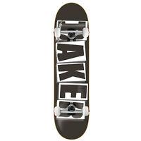 """BAKER Skateboard Complete LOGO BLACK/WHITE 8.0"""" Raw trucks ASSEMBLED"""