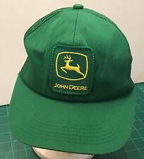 Vintage Mens Cap Hat Trucker Hipster John Deere Snapback