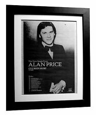 ALAN PRICE+I've Been Hurt+POSTER+AD+FRAMED+RARE ORIGINAL 1977+FAST GLOBAL SHIP