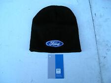 Richbrook Ford Collection, Nuevo Logo De Ford Beanie Gorro Negro, de ajuste universal