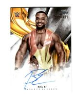 WWE Big E 2019 Topps Undisputed On Card Autograph SN 45 of 199
