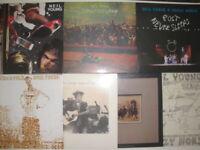 Neil Young: Vinyl Collection Sammlung 7 Alben / 7 LP neu, new