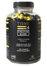 Tempo 4 nutrizione-miscela di 4 tipi di creatina miscela 240 Capsule ad alta resistenza