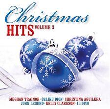 CHRISTMAS HITS VOL.3 - MEGHAN TRAINOR, CELINE DION, KELLY CLARKSON CD NEUF
