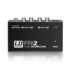 LD Systems PPA 2 - Phono Preamplifier and Equalizer LDPPA2