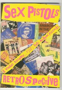 Sex Pistols: Retrospective Brand New Book