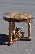 Maitland smith ebay maitland smith empire style gilt metal mounted center table 2 gumiabroncs Image collections