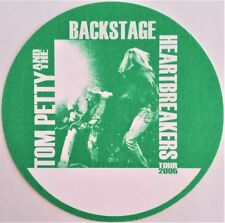 ** TOM PETTY & THE HEARTBREAKERS ** SATIN BACKSTAGE PASS - 2005 TOUR - EXCELLENT