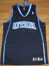 UTAH JAZZ AUTHENTIC ADIDAS JERSEY XXXL 3XL 56 3X NBA BLANK NEW SEWN NICE CUSTOM