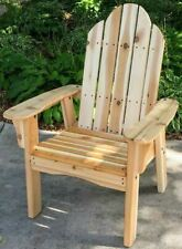 Handcrafted Responsibly Sourced Western Red Cedar Deck Chair