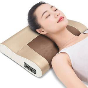 Electric Neck Massage Bad Pillow Kneading shiatsu Massager Shoulder Pain Relief