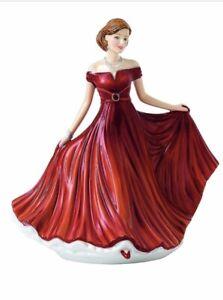 NEW Royal Doulton SWEET MEMORIES SENTIMENTS Red Figurine Sculpture HN 5850 - NIB
