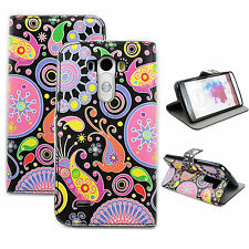 Jellyfish Printed Phone Leather Flip Wallet Pocket Case Cover Best For LG G3