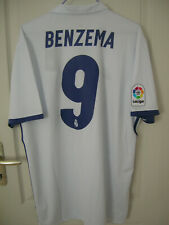 Maillot de foot Real Madrid camiseta shirt jersey Benzema taille L neuf