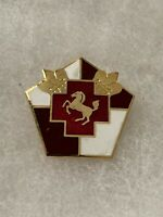Authentic US Army 5th General Hospital Unit DI DUI Crest Insignia 22M