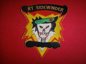 Vietnam War Patch 5th Special Forces Group MACV-SOG RT SIDEWINDER