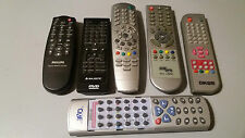 Lotto 6 telecomandi TV DVD varie marche