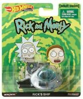 "Hot Wheels 2020 Real Rider 1/64 Adult Swim ""Rick & Morty"" Rick's Ship GJR47"