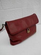 Etienne Aigner Burgundy Vintage Classic Handcrafted Soft Leather Shoulder Bag