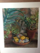 STUNNING JUDITH ROTHCHILD PASTEL  RARE CHANCE TO OWN..LEMONS  £399 TO CLEAR