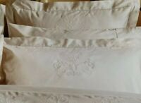 Christy Imperial White Double Flat Sheet 100% Cotton 375 Thread Count