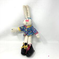 "1992 DAKIN RAPPIT RABBIT Hip Hop Rap Bunny 16"" Baseball Cap Shirt Sneakers"