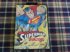 Superman - Authentic - Sega Genesis - Case / Box Only!