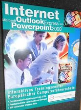Internet, Microsoft Outlook 2000 et Powerpoint 2000. interactif trainingscent