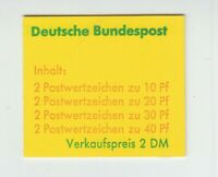 [73204] GERMANY BOOKLET Scott #1075c Mint Never Hinged
