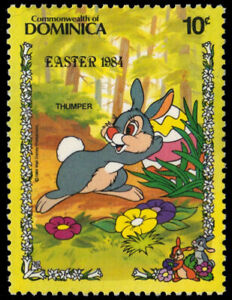 """DOMINICA 837 (SG880) - Disney Easter """"Thumper"""" (pf19731)"""