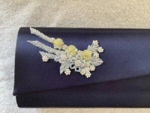 Dyeables Navy Blue Clutch Purse