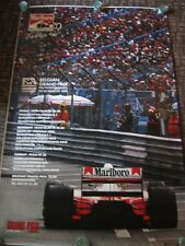 30 24x36 Poster Ayrton Senna F1 Formula Grand Super Racing Car T-1017
