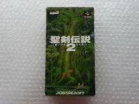 Seiken Densetsu 2 II Nintendo Super Famicom SFC SNES Japan