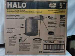 Halo E26 Series 5'' Aluminum Remodel IC Air-Tite Recessed Housing Lighting (6-p)