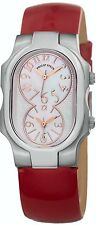 Philip Stein Women's Signature Red Patent Leather Strap Quartz Watch 1MOPRGLR