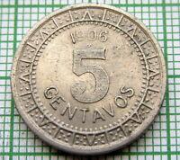 MEXICO 1906 5 CENTAVOS