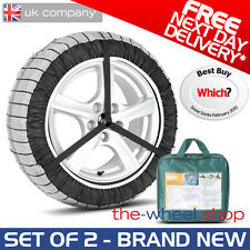 Silknet 70 Car Snow Socks Large - 255/30 R19 / 255 30 19 Tyre - Free Delivery