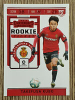 2019-20 Panini Chronicles Takefusa Kubo Contenders Rookie Ticket RC ⚽ Red TMall