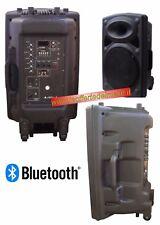 Cassa amplificata bluetooth USB per DJ e Karaoke 200Watt in ABS BD-122U