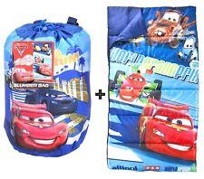 NEW DISNEY PIXAR CARS 2 WORLD GRAND PRIX SLEEPING SLUMBER BAG w/ BONUS BACKPACK