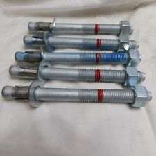 "Hilti Expansion Anchors 3/4"" x 8"" (Qty of 5) #387521"