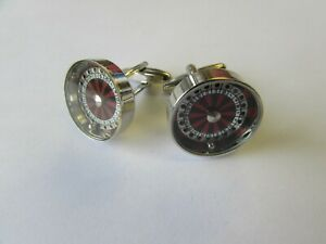 ROULETTE MOVING CUFFLINKS