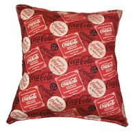 Coca-Cola Pillow HANDMADE Coke Soda Thirst Quenching Coca Cola Drink Classic NEW