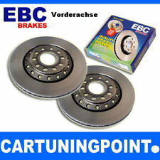 EBC Brake Discs Front Axle Premium Disc for VW CADDY 3 2KB D1200