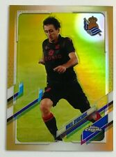 2020-21 Topps Chrome Real Sociedad Gold Refractor Mikel Oyarzabal 7/10