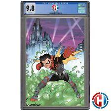 ROBIN #1 MELNIKOV WRAPAROUND VARIANT CGC Graded 9.8 PRESALE DC Comics 4/28/21