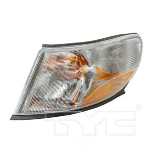 Turn Signal / Side Marker Light Assembly Front Left TYC fits 99-03 Saab 9-3