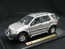 Maisto Mercedes-Benz ML 320 1:18 Silver (JS)